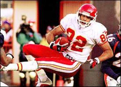 Receiver, Kansas City Chiefs 1998-2001