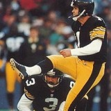 Pittsburgh Steeler Kicker Gary Anderson