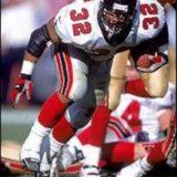 Jamal Anderson, Atlanta Falcons Running Back 1995-2001
