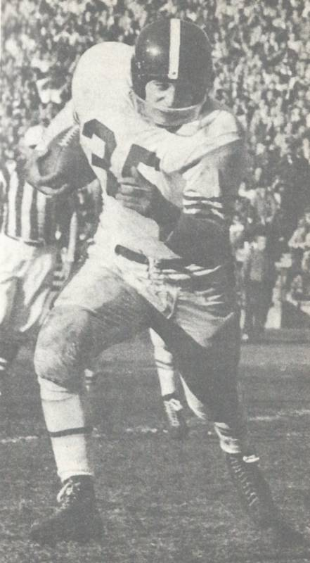 Alan Ameche as a rookie with the Baltimore Colts in 1955
