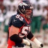 Linebacker Bill Romanowski