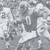 Billy Cannon Carries against the Dallas Texans in the 1962 AFL Championship