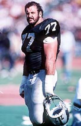 Lyle Alzado, Defensive Lineman Oakland Raiders, 1982-1985