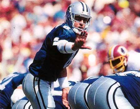 Hall of Fame Quarterback Troy Aikmen