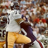 Pittsburgh Steeler Defensive Tackle Joe Greene