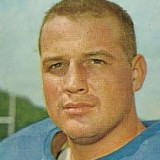 Sam Huff, New York Giants Hall of Fame Middle Linebacker