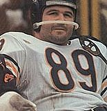 Chicago Bears Tight End Mike Ditka