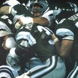 Philadelphia Eagles Running Back Wilbert Montgomery, 1977-1984