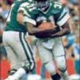 Philadelphia Eagles Running Back Wilbert Montgomery, 1977-1984