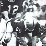 Ken Stabler and Jim Otto of the Oakland Raiders