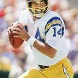 NFL Quarterback Dan Fouts