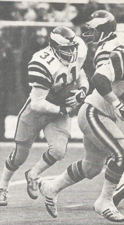 Wilbert Montgomery 1980 Philadelphia Eagles