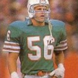 John Offerdahl of the Miami Dolphins