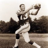 Hall of Fame Receiver Don Maynard of the New York Jets.