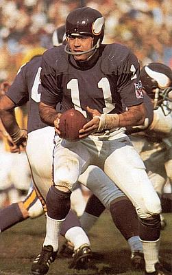 Joe Kapp, 1969 All-Pro Quarterback, Minnesota Vikings