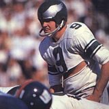 Sonny Jorgensen, Philadelphia Eagles Quarterback 1957-1963