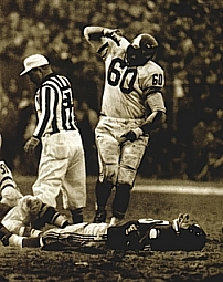 Chuck Bednarik, Philadelphia Eagles, 1949-1962