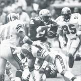 Dalton Hillard Bowls over Dion Sanders in 1989