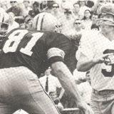 Doug Atkins Pressures Redskin Quarterback Sonny Jorgensen