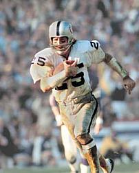 Fred Biletnikoff Hall of Fame Receiver, Oakland Raiders 1965-1978
