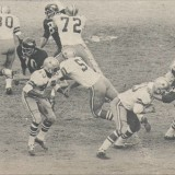 Sam Huff Pressures Don Meredith in 1967