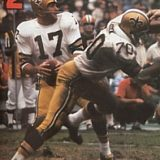 Billy Kilmer, New Orleans Saints 1967-1970
