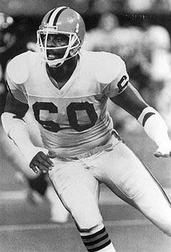 Al Baker, Defensive Lineman, Cleveland Browns 1987, 1989-1990
