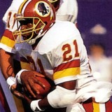 Redskins Running Back Earnest Byner