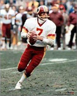Joe Theismann Washington Redskins Quarterback
