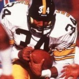 Walter Abercrombie, Running Back for the Pittsburgh Steelers, 1982-1989