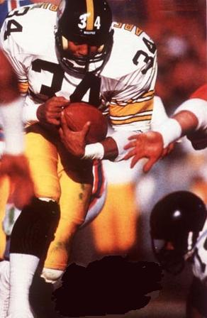 Walter Abercrombie, Pittsburgh Steelers Runningback, 1982-1988
