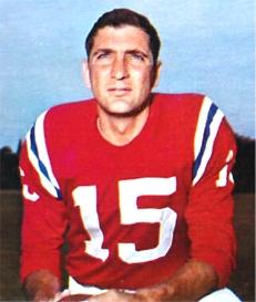 Babe Parilli, Quarterback 1952-1968