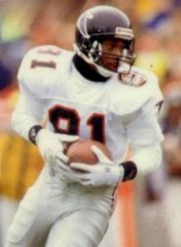 Atlanta Falcons receiver Michael Haynes