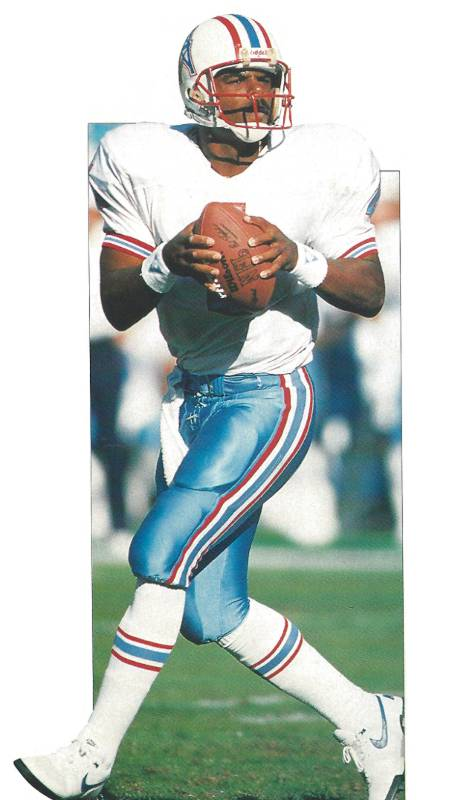 Warren Moon 1990 Houston Oilers