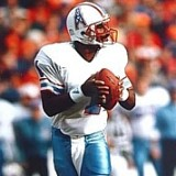 Warren Moon Houston Oilers 1984-1993
