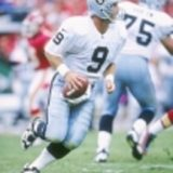 NFL Quarterback Billy Joe Hobart Oakland Raiders