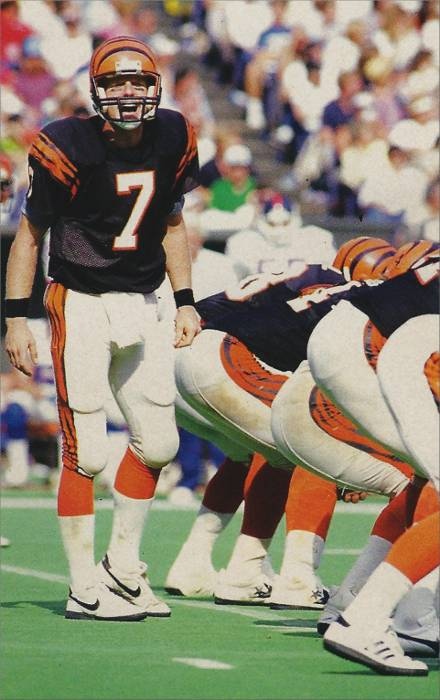 Boomer Esiason, All-Pro Bengals Quarterback from 1984 to 1992