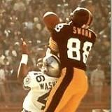 Pittsburgh Steeler receiver Lynn Swann