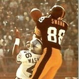 Pittsburgh Steeler receiver Lynn Swann