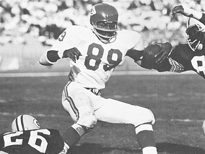 Otis Taylor Kansas City Chiefs Receiver 1965-1975