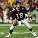 Chris Chandler, Atlanta Falcons Quarterback