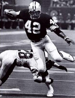 Chuck Muncie, New Orleans Saints 1976-1980