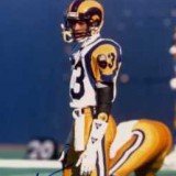 Rams Kick Returner Flipper Anderson