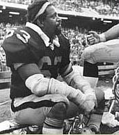 Gene Upshaw and Warren Wells