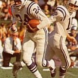 Baltimore Colts running back Lenny Moore
