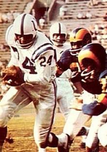 Colts Runner Lenny Moore, 1956-1967