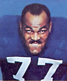 Baltimore Colt Hall Offensive Lineman Jim Parker