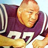 Baltimore Colt Hall Offensive Lineman Jim Parker