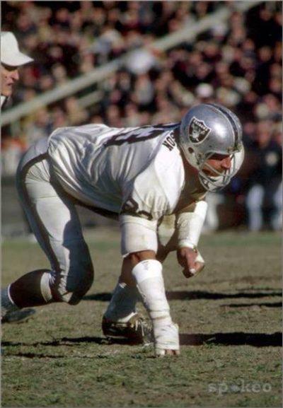 Defensive Lineman Ben Davidson of the Oakland Raiders
