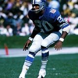 Hall of Fame Defensive Back Lem Barney, Detroit Lions 1967-1977